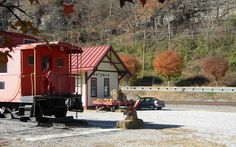 Matewan WV: Mingo County: N Station and surrounding Area by Chuck & Alice Riecks, via Flickr