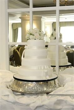 The Wedding Cake and Unique Sword  - Macdonald Compleat Angler Hotel