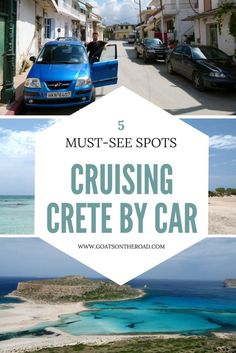 Cruising Crete By Car: 5 Must-See Stops  Europe Travel | Greece Travel | Road Trip in Crete | Crete Travel