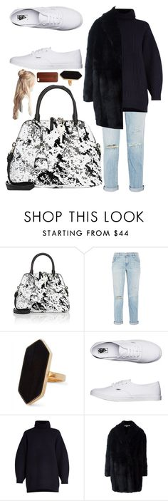 """""""Untitled #841"""" by clothyoulike ❤ liked on Polyvore featuring Maison Margiela, Current/Elliott, Jaeger, Vans, Acne Studios, Alexander McQueen and TWO-O"""