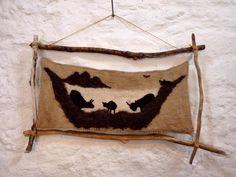 Ardalanish Logo by Andrea of Skye Weavers Photo by Oxfordshire artist Amanda Deadman Dead Man, Amanda, Weaving, Paintings, Throw Pillows, Logo, Artist, Shop, Photos