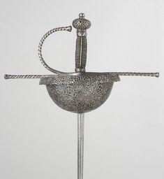 Philadelphia Museum of Art - Collections Object : Cup-Hilted Rapier - hilt Italian, blade German, c. 1660-1670  - Kienbusch collection