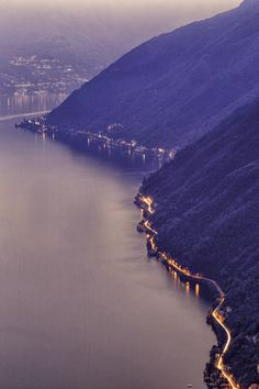 Road to Como, Italy The uber cool online vending machine of luxury travel experiences and itineraries -- all but a mouse click away. Worldwide http://tasteofblue.com/travel #TOB #Travel #Photography