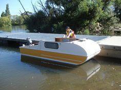 It's portable, it's a camper, it's a boat.