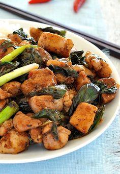 Thai Chilli Basil Chicken