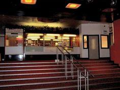 Inside the Ritz cinema