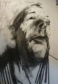 Philip Tyler Charcoal drawing A1 http://www.highgateart.com/ http://www.northcotegallery.com/ http://www.zimmerstewart.co.uk/