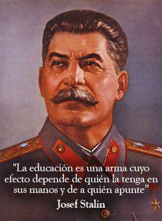 7 frases famosas de Stalin: http://www.muyinteresante.es/historia/articulo/7-frases-famosas-de-josef-stalin-831387366746 #stalin #quotes #frases