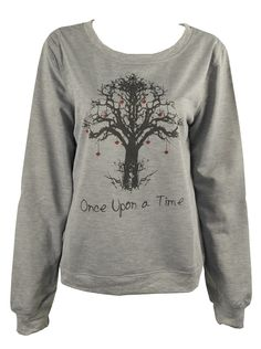 Once Upon a Time Tree Print Sweatshirt