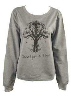 Once Upon a Time Tree Print Sweatshirt