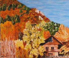 Artwork >> Adélina Art >> the country cottage
