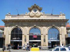 Façade- de-la-gare de Toulon, FRANCE     -  Imperial Baroque style architecture  OL