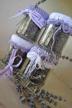Il blog di Lisanna: Vasetti di lavanda