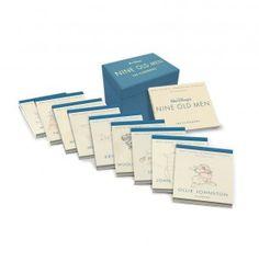 Walt Disney's Nine Old Men Flipbooks Box Set. Más Info: http://www.edicioncoleccionista.com/walt-disneys-nine-old-men-flipbooks-box-set/