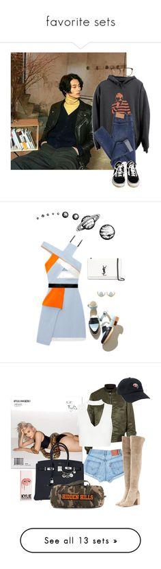 """favorite sets"" by junglex ❤ liked on Polyvore featuring Cheap Monday, Vans, Linda Farrow, men's fashion, menswear, WWAKE, Yves Saint Laurent, By Terry, rag & bone and Hermès"