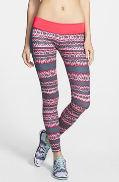Nike 'Brush Stripe' Performance Leggings (UPF 40+) | Nordstrom