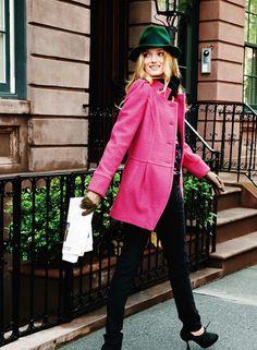 I love that coat!
