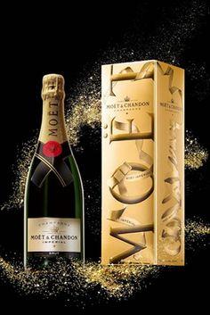 El champagne Moet Chandon lanza su caja oro para estas fiestas | Barman in Red