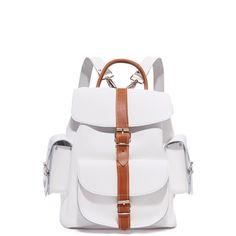 40582dd8af5 Grafea Leather Backpack ( 289) ❤ liked on Polyvore featuring bags