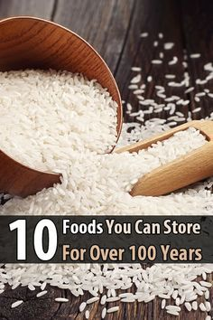"""There are some foods that, for all intents and purposes, will last forever. Or at least for the rest of your life. I'm talking about """"forever foods."""""""