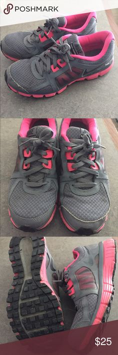 1e4a7b859345 Women s Nike Sneakers Gray and pink size women s 11 Nike sneakers. Gently  worn but still