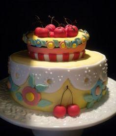 Adorable Mary Engelbreit cake