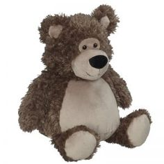 Peluches personnalisables - Boutique - Broderie Amé Design Billy Bear, Sitting Positions, Embroidery Supplies, Baby Birth, Plush Animals, Brown Bear, Plushies, Boutique, Baby Names