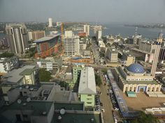 Le Plateau is the CBD of Abidjan, one of the ten largest metropolitan cities in Africa.