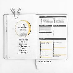 "Jasmine on Instagram: ""I posted my October plan with me recently, check it out through the link in my bio! Supplies: Rhodia Webnotebook, Zebra Mildliner…"" • Instagram"