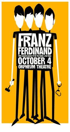 GigPosters.com - Franz Ferdinand
