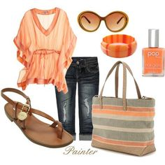 Love the Sandals & Bag