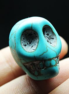 4Pcs Awesome Turquoise Quartz Skull Crystal Carving HEALING | eBay