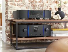 MARANTZ PM10S1 integrated amplifier with SA10S1 SACD/CD player.