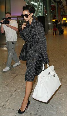 Victoria Beckham Hermes fashion