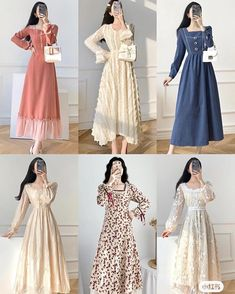 Beautiful Casual Dresses, Casual Day Dresses, Stylish Dresses For Girls, Classy Outfits, Pretty Outfits, Pretty Dresses, Vetements Clothing, Kpop Fashion Outfits, Swagg