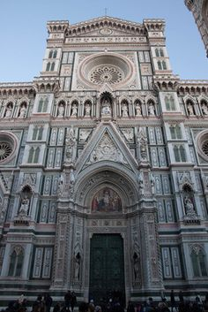 Santa Maria del Fiore Cathedral, Firenze, Italy  Florence, Italy~ I've been/sat there!!!