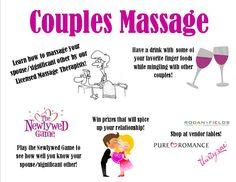 Couples Massage Night!