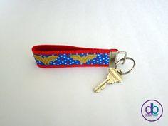 Wonder Woman Inspired Keychain by DeBoopShop on Etsy, $7.00