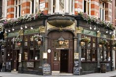 london pubs....oh how I miss you