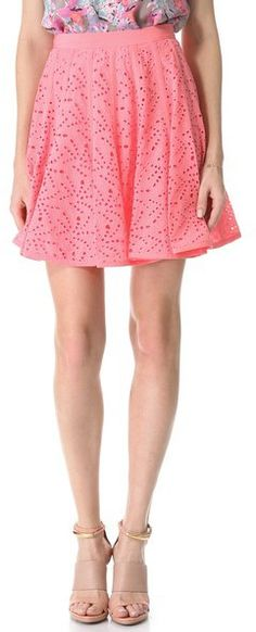 #shopbop.com              #Skirt                    #Rebecca #Taylor #Eyelet #Godet #Skirt #SHOPBOP     Rebecca Taylor Eyelet Godet Skirt | SHOPBOP                                   http://www.seapai.com/product.aspx?PID=602935