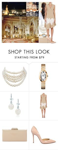 """""""Royal Crossover: Cocktail reception in the Buckingham Palace"""" by princessofnorth on Polyvore featuring Mode, Christian Dior, Paloma Picasso, Derek Lam, Dune und Christian Louboutin"""