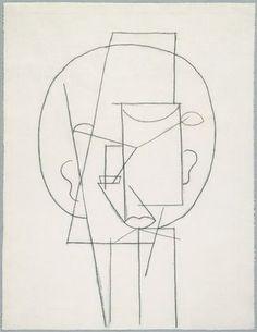 Head, Pablo Picasso, 1913