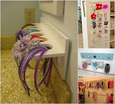 Cool Ideas to Store Your Hair Accessories