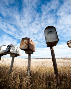 8x10 Luster Print  Viking Mailboxes 2 by AveyChristiansen on Etsy, $20.00