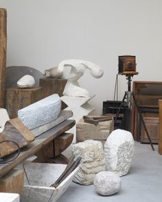 Atelier Brancusi  by leslie williamson