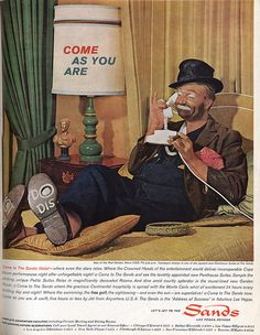 1963 ad featuring Red Skelton as Freddie the Freeloader