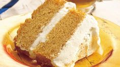 Pumpkin Angel Food Cake with Ginger-Cream Filling recipe and reviews - Angel food cake mixes with pumpkin for a new flavor twist. Layers of whipped cream make it a dreamy dessert.