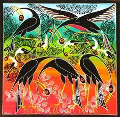 Tinga Tinga Art - MBWANA Sudi (painter)