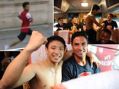 A young Vietnamese Arsenal fan goes to extreme physical lengths to meet his heroes during their pre-season tour of Asia. http://www.huffingtonpost.co.uk/2013/07/16/arsenal-fan-vietnam-asia_n_3604465.html