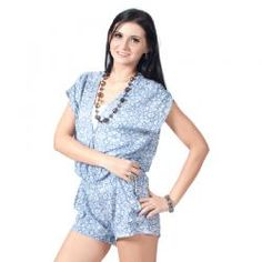 ANCESTOR  DEV JUMPSUIT BIRU  Rp 415,000.00  II www.fashionbiz.co.id Jumpsuit, Rompers, Dresses, Fashion, Jumpsuits, La Mode, Fashion Illustrations, Flower Girl Dress, Fashion Models
